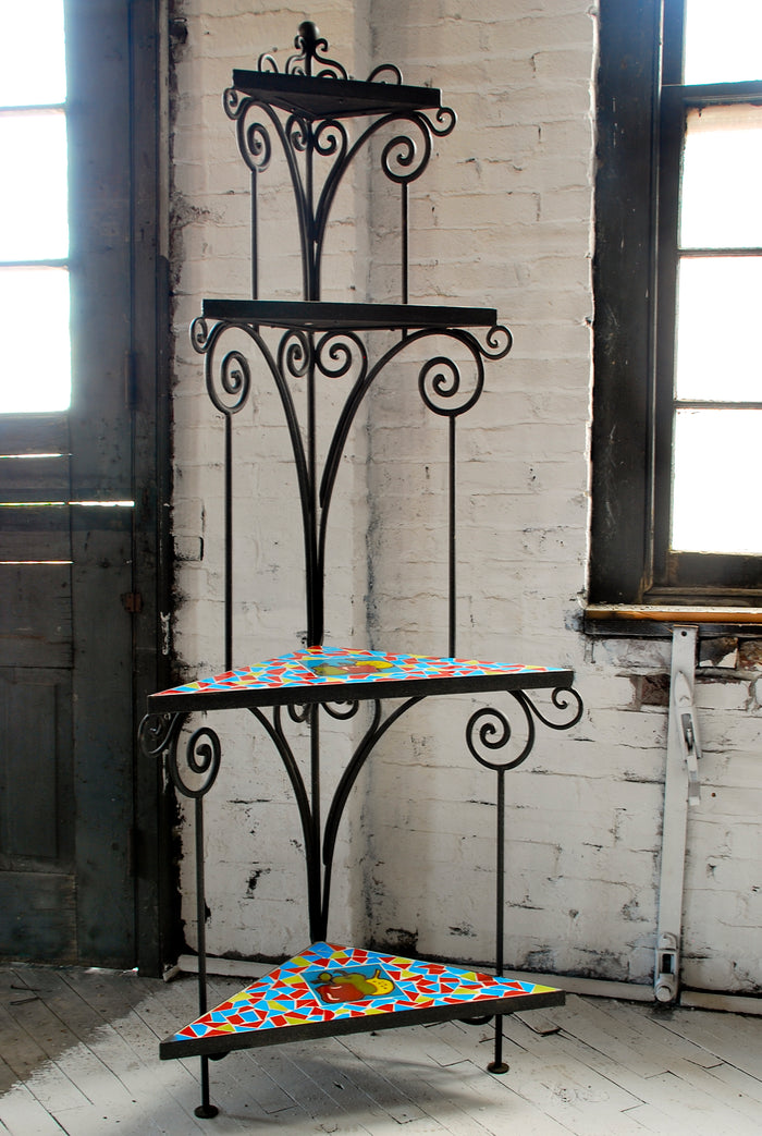Decorative Iron - Corner Shelving MISC-I-005