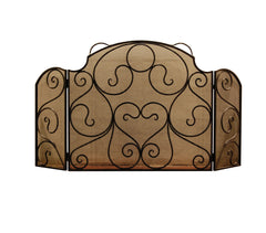 Artesano Iron Works - Fireplace Screens - AIWFS-002