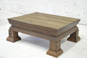 Barn Wood Coffee Table - Tiered Low ST-031