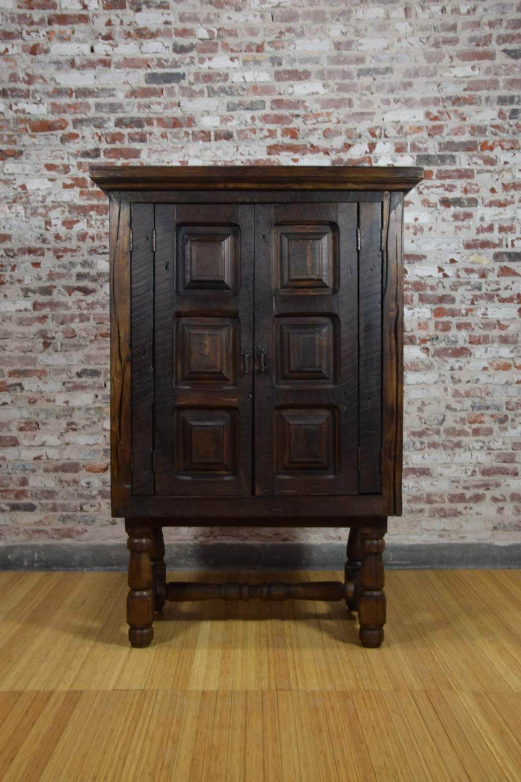 Barnwood Armoire   Media Cabinet With Legs WA 030 ...