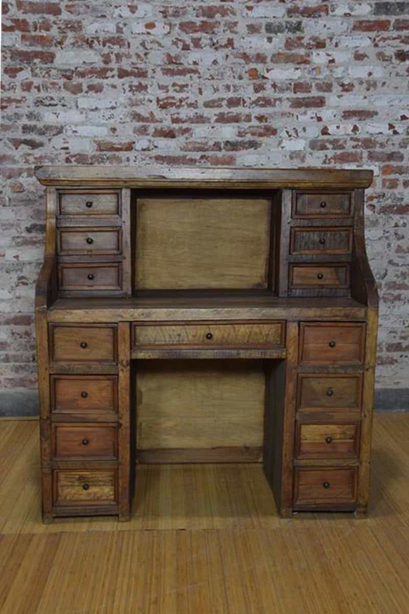 Copy of Barnwood Desk - Apothecary Drawers
