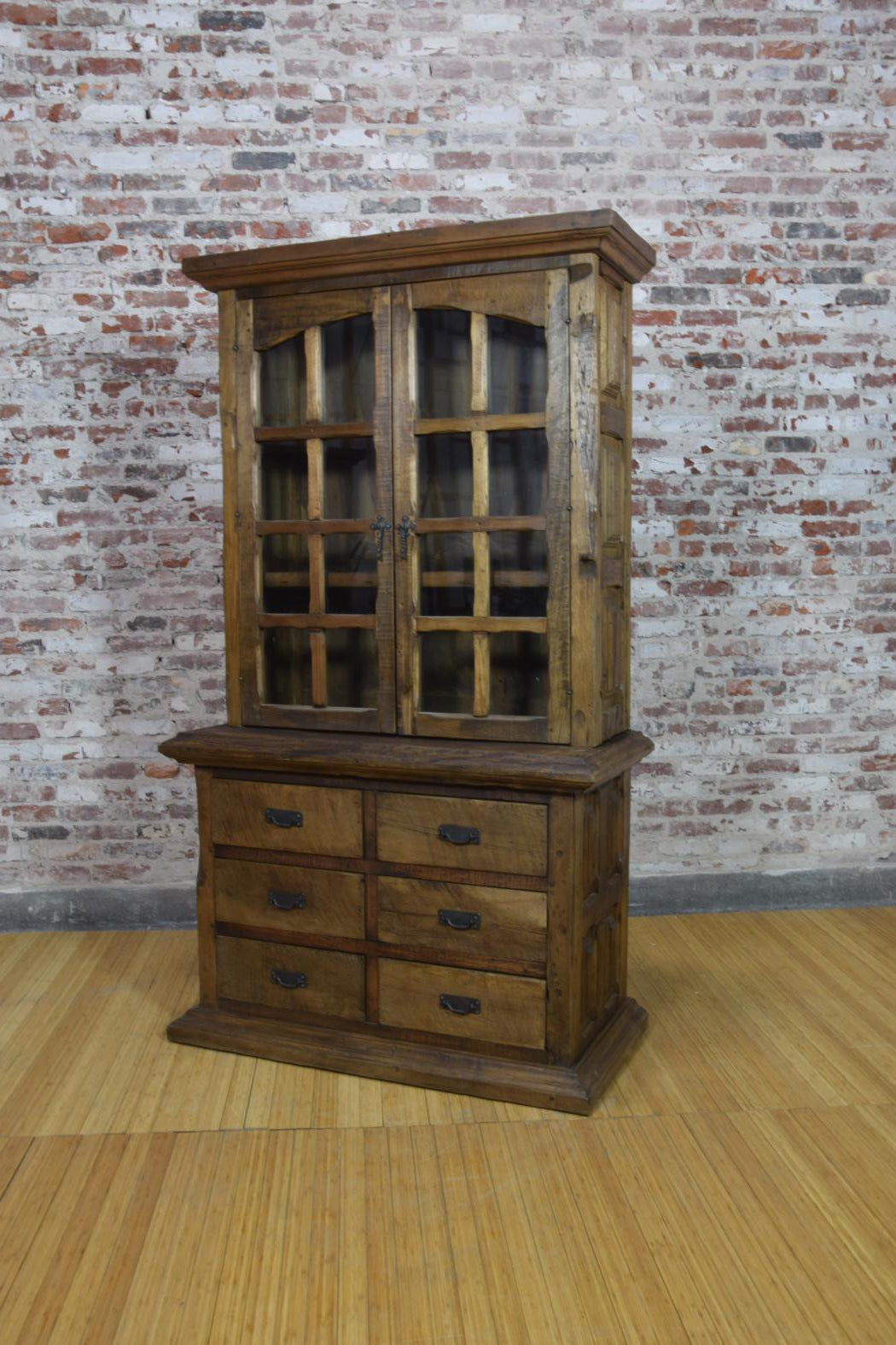 Barnwood Hutch - Curio Display Cabinet
