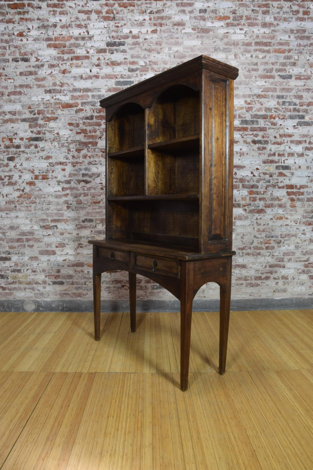 Barnwood Desk - Bookcase Addition