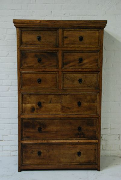 Barn Wood Dresser - Dark Walnut WD-013