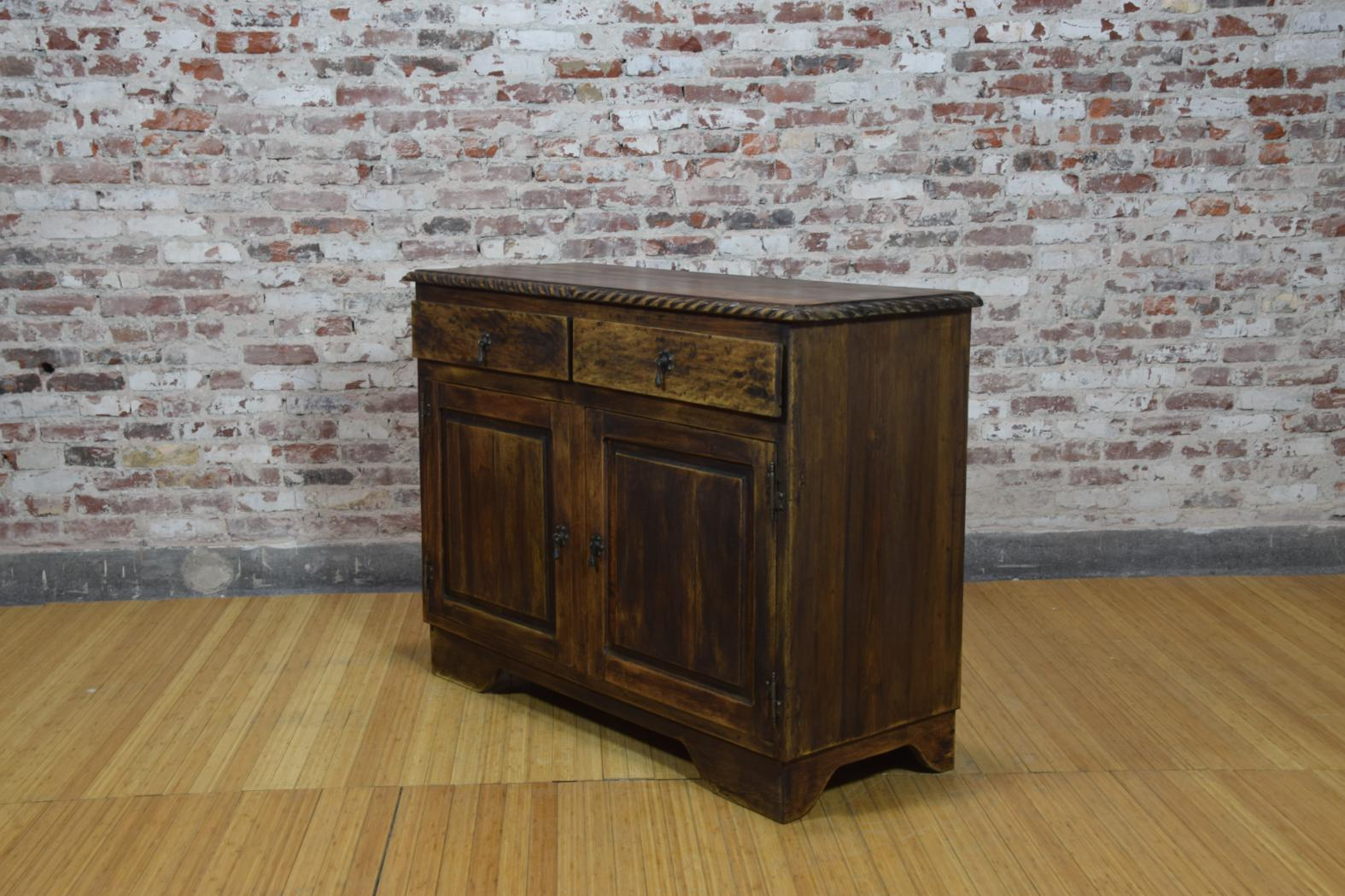 Barnwood Console - Decorative Trim