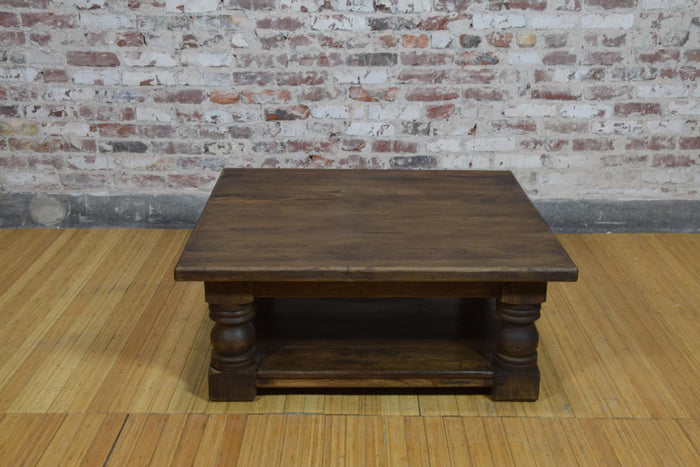 Barnwood Coffee Table - Missionary Design