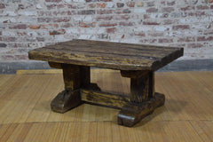 Barnwood Coffee Table - Distressed Rustic