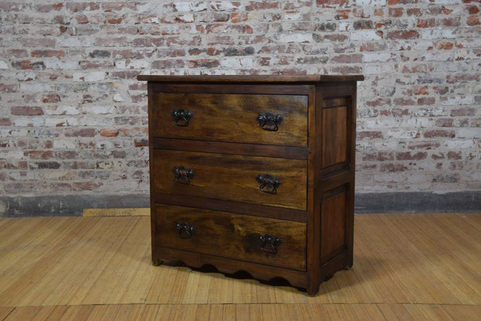 Barnwood Dresser - Wave Bottom Trim