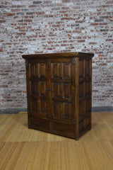 Barnwood Armoire - Custom Wine Rack