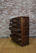Barnwood Dresser - Contemporary Dark