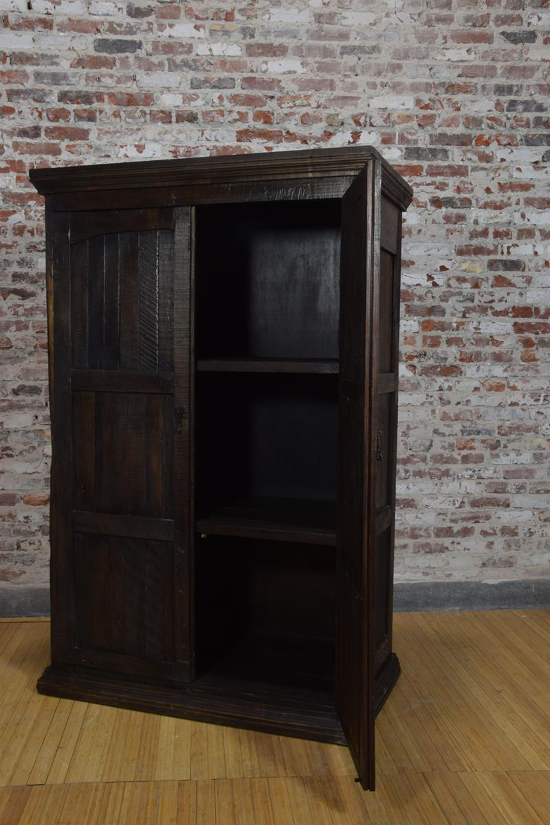 Barnwood Armoire -  Rectangle panel Carvings