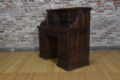 Barnwood Desk - Apothecary Drawers