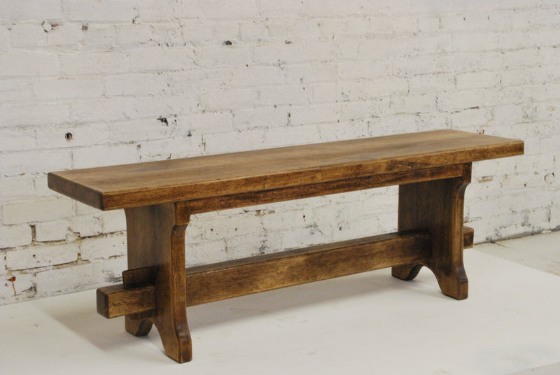 FWB-0001 Barn Wood Bench - Two Seat