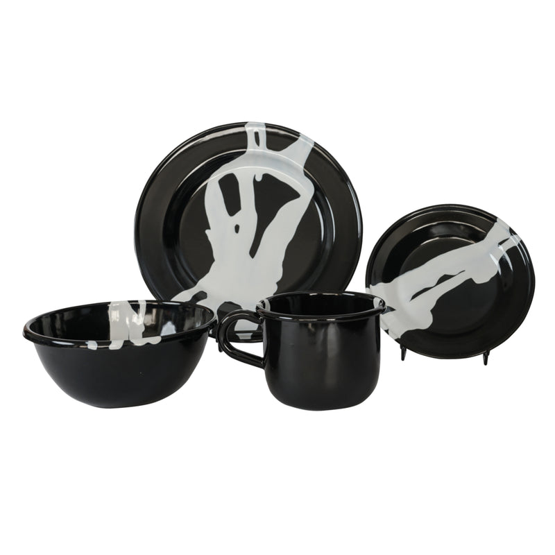 Artesano Iron Works - Mangrove Enamelware 16 Piece Set