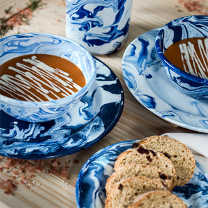 Dune Enamelware Dinner Plate - Unit Price $8.54 - Set of 4