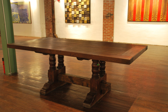 Barn-wood dining table  T-003