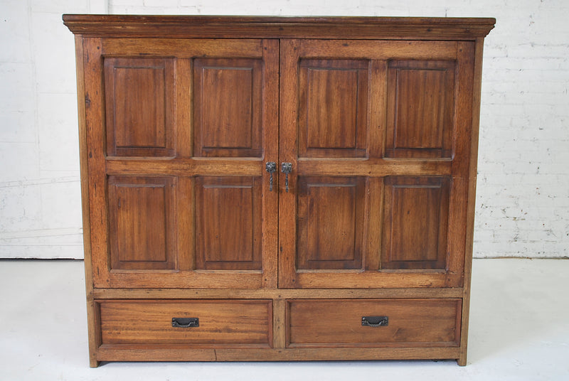 Barn Wood Armoire - Media Cabinet AR-021