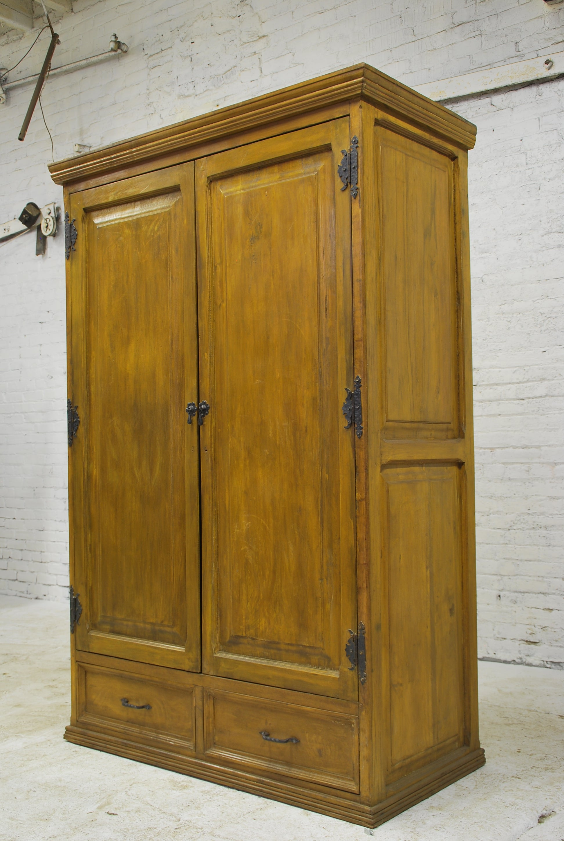 Barn Wood Armoire - Modern AR-017
