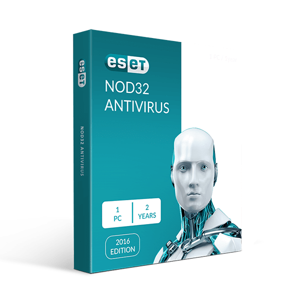 Eset Nod32 Antivirus 1 PC 2 Years
