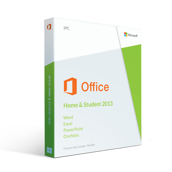 Microsoft Office 2013 Home And Student Instant License