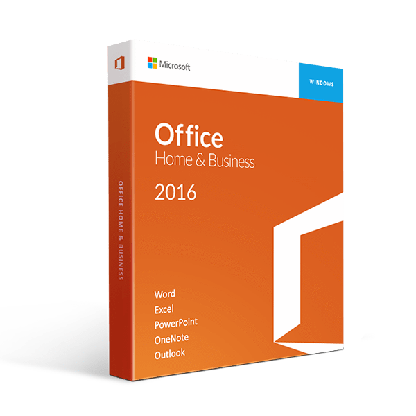 Microsoft Office 2016 Home And Business Retail Box 1 User