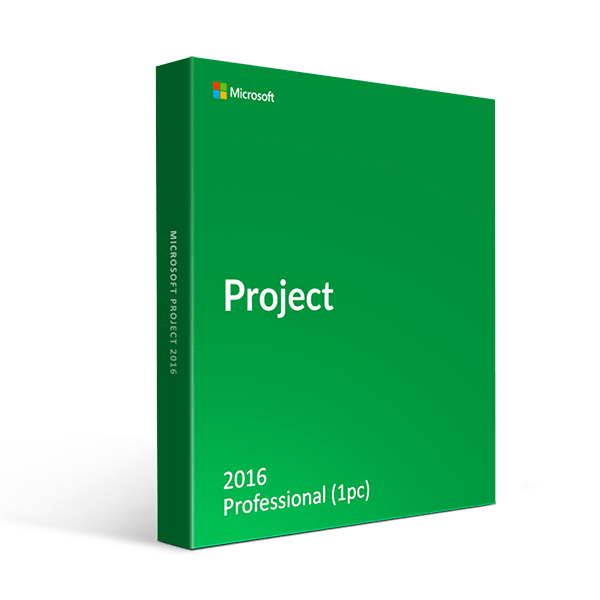 Microsoft Project Professional 2016 1 Pc