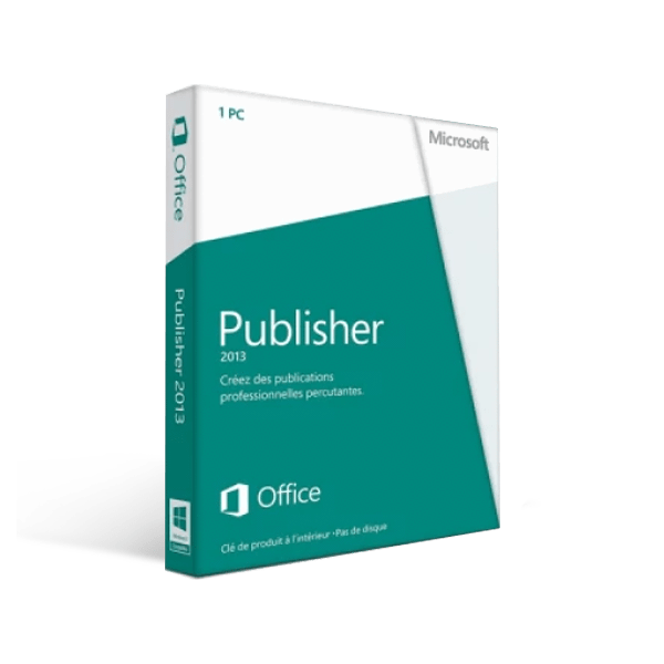 Microsoft Publisher 2013 1 Pc