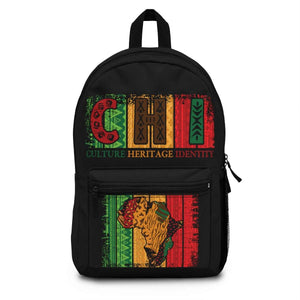 African Pattern Culture Heritage Identity Backpack