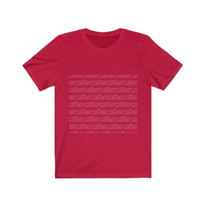 Pattern Crew Neck (Red)