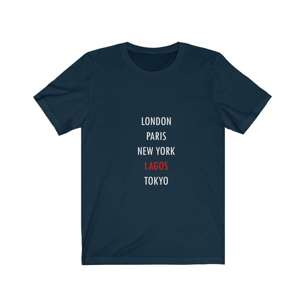 Global City Lagos Tee (Navy)