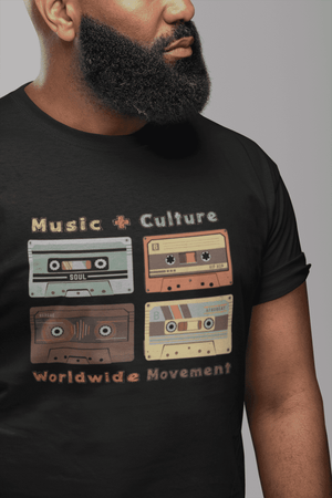 Music + Culture Graphic Tee (Black)