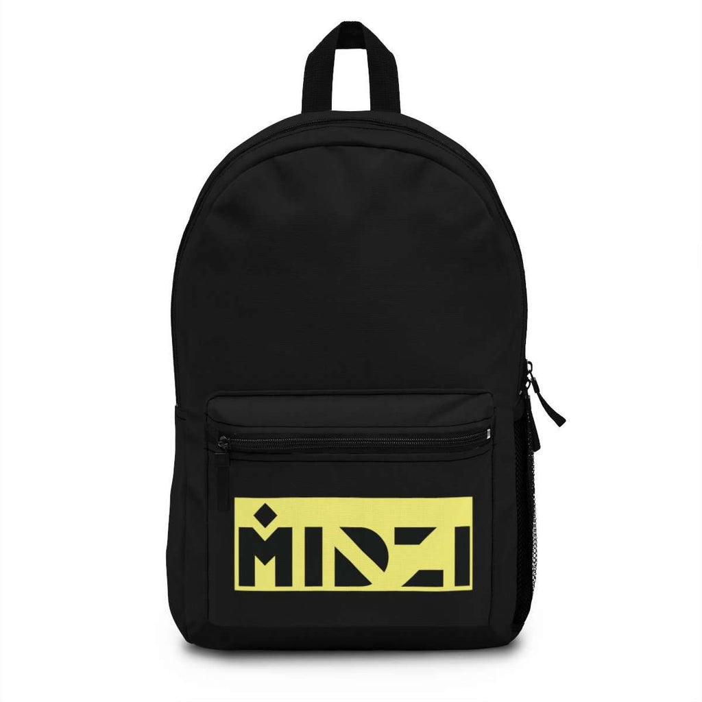 Midzi Yellow Block Backpack