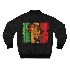 Africa Map Culture Heritage Identity Bomber Jacket