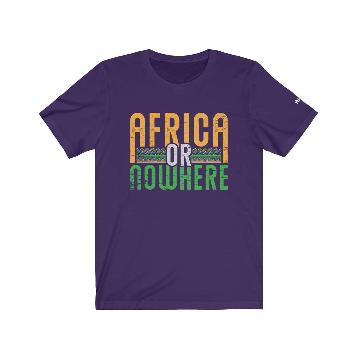Africa or Nowhere Graphic T-shirt
