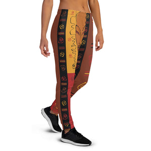 Tribal Mask Women's Joggers