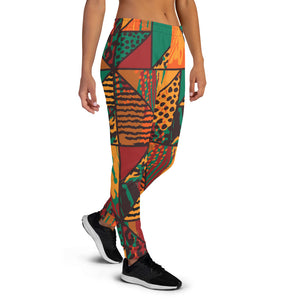Animal Abstract Women's Joggers