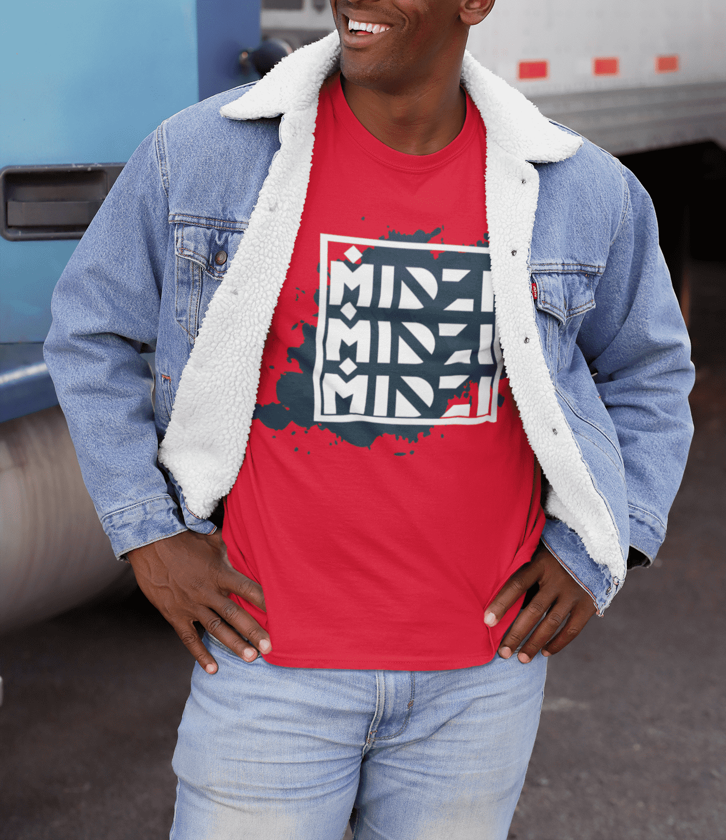 Midzi Ink Spot Graphic Tee