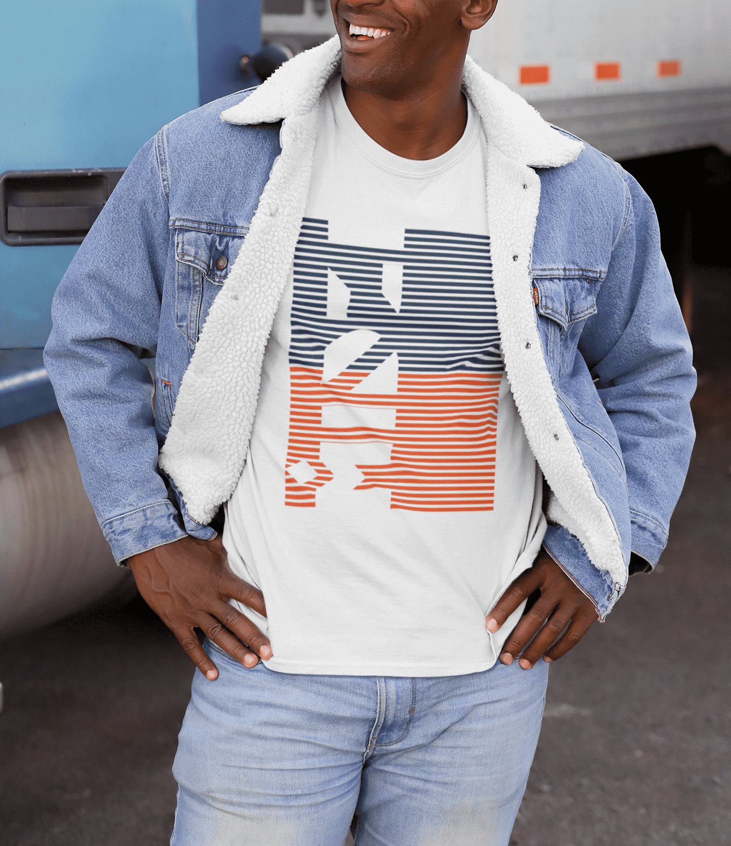 Midzi Ladder Graphic Tee
