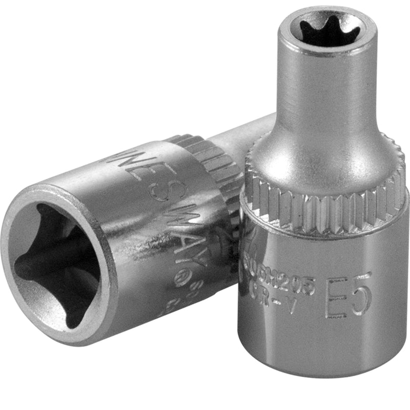 "1/4"" Dr Star Socket, CR-V Jonnesway Tools"