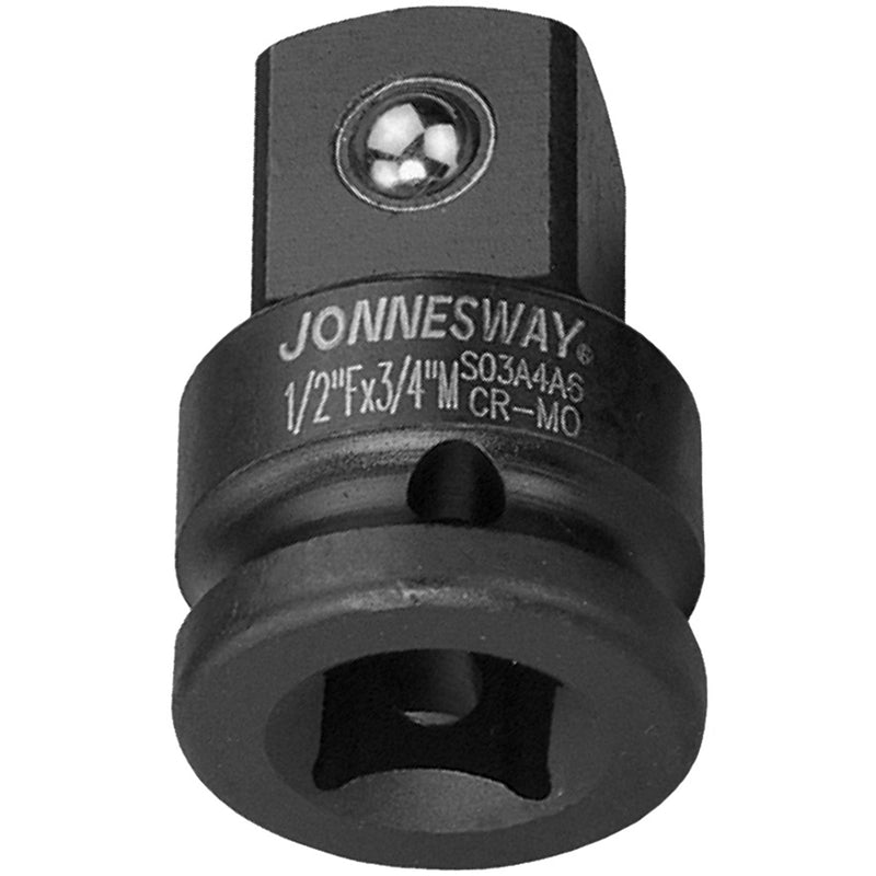 "1/2"" Dr(F)*3/4"" Dr(M) Air Adapter, Cr-mo S03A4A6 Jonnesway Tools"