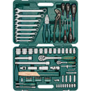 "77 Piece 1/2"", 1/4"" Dr. Tool Set Mechanics, Garage & Household Tools S04H52477S Jonnesway"