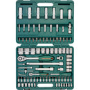 "94 Piece 1/4"", 1/2"" Dr. Tool Set Mechanics, Garage & Household Tools S04H52494S Jonnesway"
