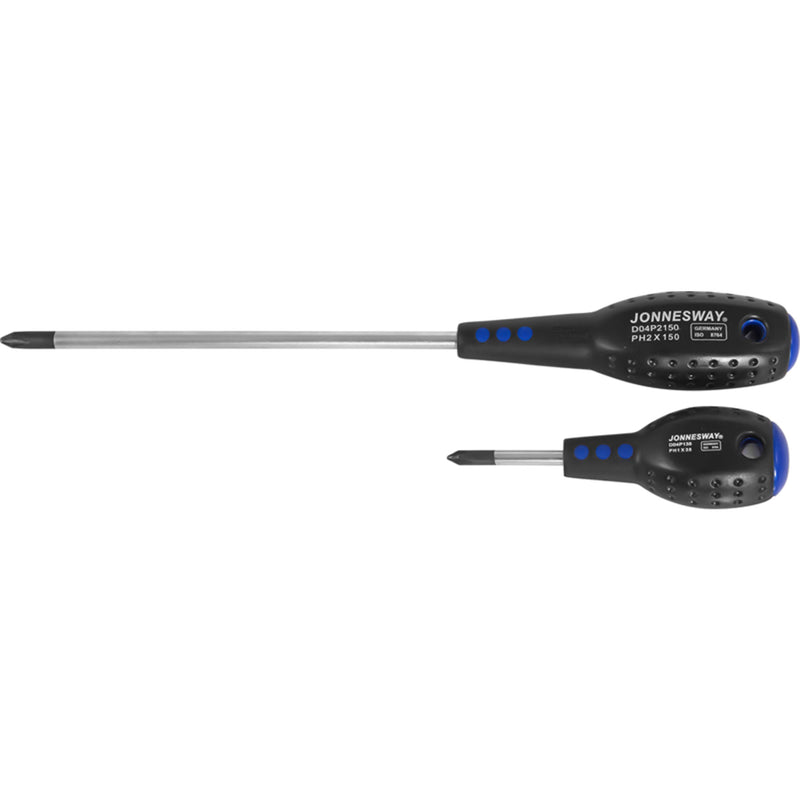 Full Star Screwdriver Ph2x150 mm D04P2150 Jonnesway Tools