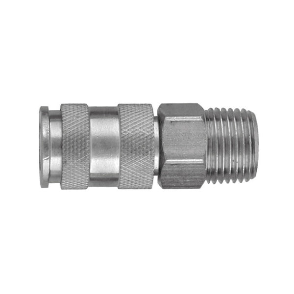 "Quick-connective Coupler 1/4""Bsp(M) GM-02AM Jonnesway Tools"