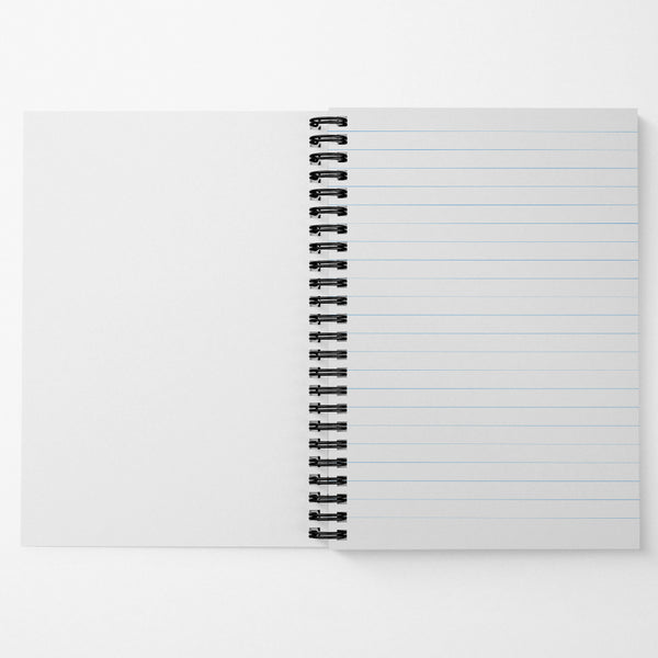 "Custom 6""x8"" Spiral Notebook (Ruled)"