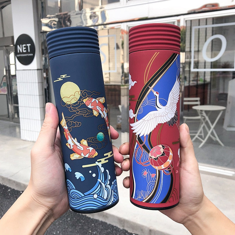 Stay Hydrated Art Thermos