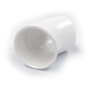 Elbow 50mm x 45 Deg PVC
