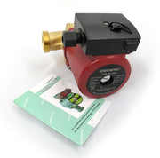Greenpro Pump RS 25/8G, 3 Speed, In-Line Water Circulation Pump