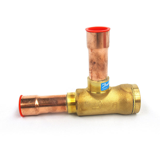 Spring Check Valve with connections at 90 degrees