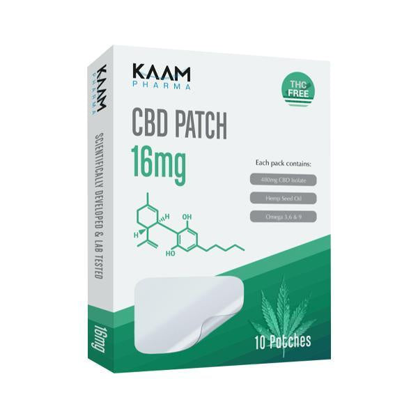 Kaam Pharma CBD Patch - 16mg